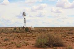 落寞沙漠横向 免版税图库摄影