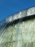 落的喷泉水 免版税库存图片