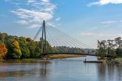 落的桥梁 免版税图库摄影