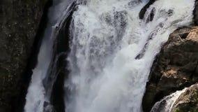 落的水小河 瀑布 股票录像