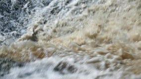 落的水瀑布巨大的小河  影视素材