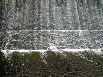 落的水 库存照片
