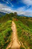 落矶山的风景在西班牙 库存照片