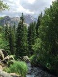 落矶山脉国家公园夏天2015年 免版税库存照片