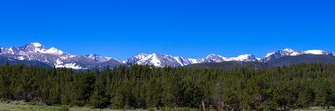 落矶山脉国家公园 免版税图库摄影
