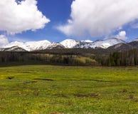 落矶山脉国家公园 库存照片