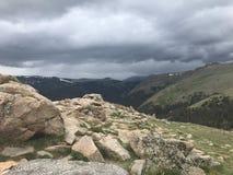 落矶山脉国家森林 库存图片