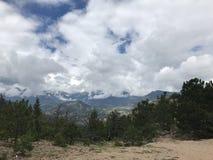 落矶山脉国家森林 免版税库存照片
