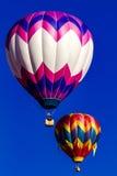 落矶山脉热空气气球节日 免版税图库摄影