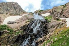 落矶山脉风景在科罗拉多,美国 免版税库存照片
