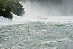 落莱茵河 免版税图库摄影