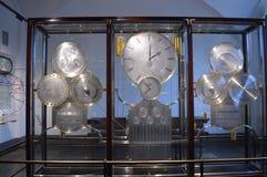 著名世界时钟在哥本哈根 免版税图库摄影