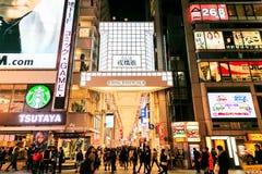 著名为它历史的剧院和餐馆和n 免版税库存图片
