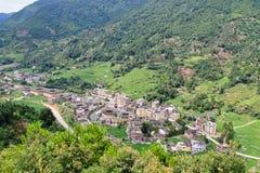 著名传统村庄 库存照片