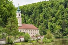 著名修道院Weltenburg 免版税库存照片
