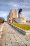著名全国纪念品- 1月Zizka雕象 免版税库存照片