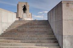 著名全国纪念品- 1月Zizka雕象 库存照片
