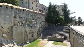 著名卡维的dei Balestrieri在圣马力诺 影视素材