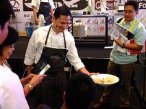 著名厨师Mandif Warokka 免版税库存图片