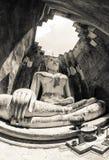 著名古老菩萨在泰国 库存图片