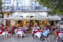 著名和专属咖啡馆Nicola在里斯本-里斯本-葡萄牙- 2017年6月17日 免版税库存照片