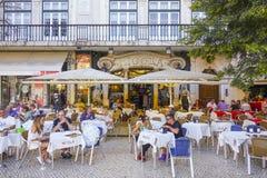 著名和专属咖啡馆Nicola在里斯本-里斯本-葡萄牙- 2017年6月17日 免版税库存图片