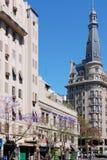 著名和好的19世纪历史的欧洲大厦 库存图片