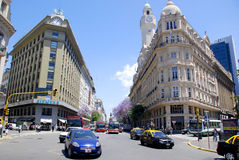 著名和好的19世纪历史的欧洲大厦 库存照片