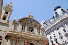 著名和好的19世纪历史的欧洲大厦 图库摄影