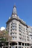 著名和好的19世纪历史的欧洲大厦 免版税库存照片