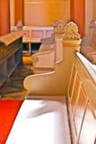 著名哥特式Markt Kirche从 免版税库存照片