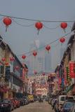 著名唐人街在新加坡 图库摄影