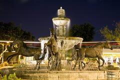 著名喷泉斯科茨代尔 免版税库存图片