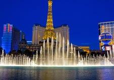 著名喷泉 库存照片