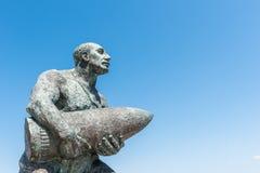 著名土耳其伍长, Seyit Cabuk雕象  免版税库存照片