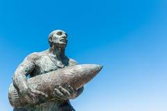 著名土耳其伍长, Seyit Cabuk雕象  免版税库存图片