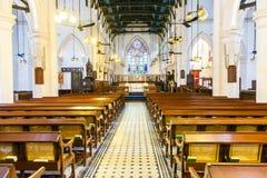 著名圣约翰斯大教堂在洪 免版税库存照片
