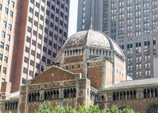 著名圣巴塞洛缪的主教制度的教会 库存图片