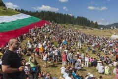 著名在保加利亚rozhen民间传说节日 图库摄影