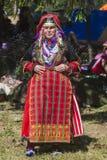 著名在保加利亚rozhen民间传说节日 库存照片