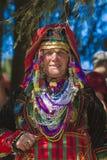 著名在保加利亚rozhen民间传说节日 免版税库存图片