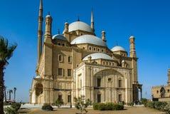 著名地方各种各样的旅游照片在开罗埃及 免版税库存图片