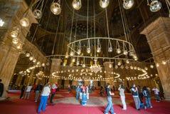 著名地方各种各样的旅游照片在开罗埃及 图库摄影