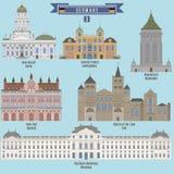 著名地方在德国 免版税库存照片