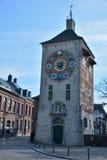 著名地标比利时:齐默尔塔 免版税图库摄影