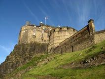著名城堡在爱丁堡 库存图片