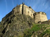 著名城堡在爱丁堡 免版税库存照片