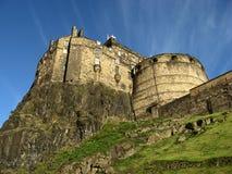 著名城堡在爱丁堡 库存照片