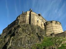 著名城堡在爱丁堡 图库摄影