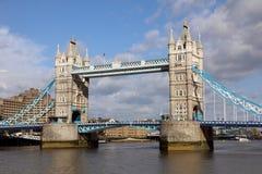 著名塔桥梁,伦敦 免版税库存照片